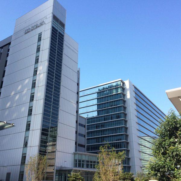 みなとみらいの高層オフィスビル街15の写真