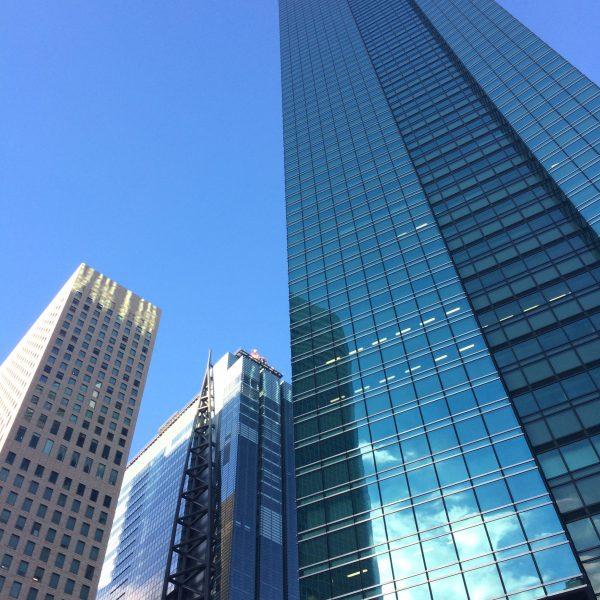 汐留の高層ビル街7の写真