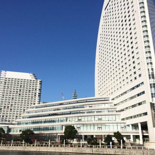 みなとみらいの高層ホテルの写真