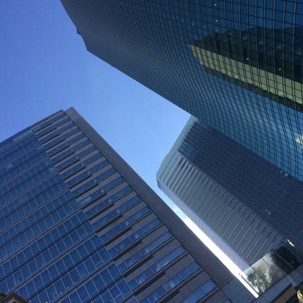 汐留の高層ビル街9の写真