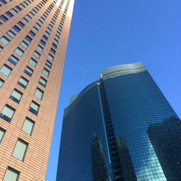 ロイヤルパーク汐留タワーと汐留シティセンターの写真