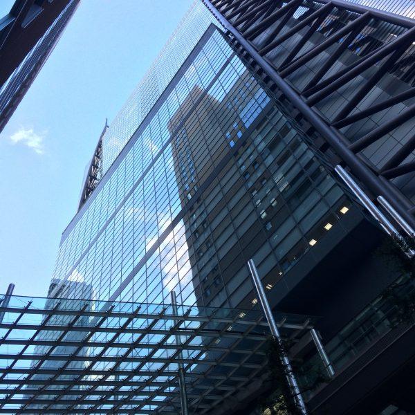 汐留の日本テレビタワー3の写真