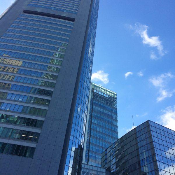 汐留メディアタワーの写真