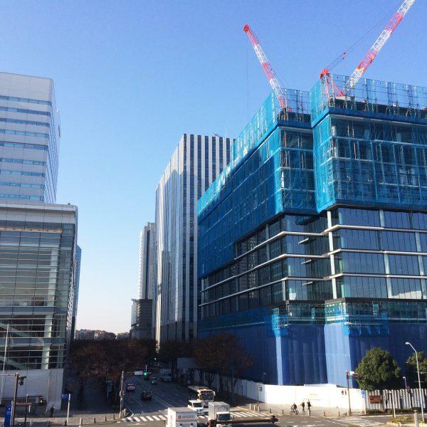 みなとみらいの高層オフィスビル街17の写真