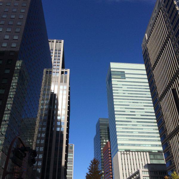 大手町の高層ビル街4の写真