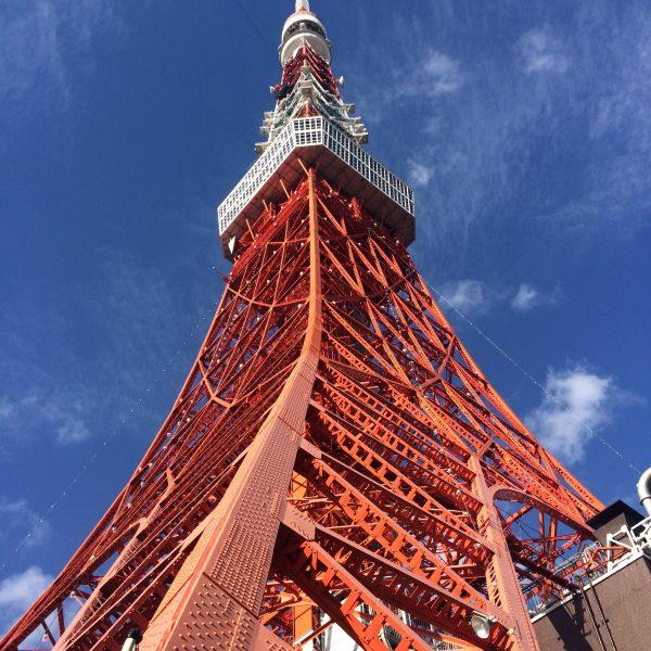 東京タワーと青空2の写真