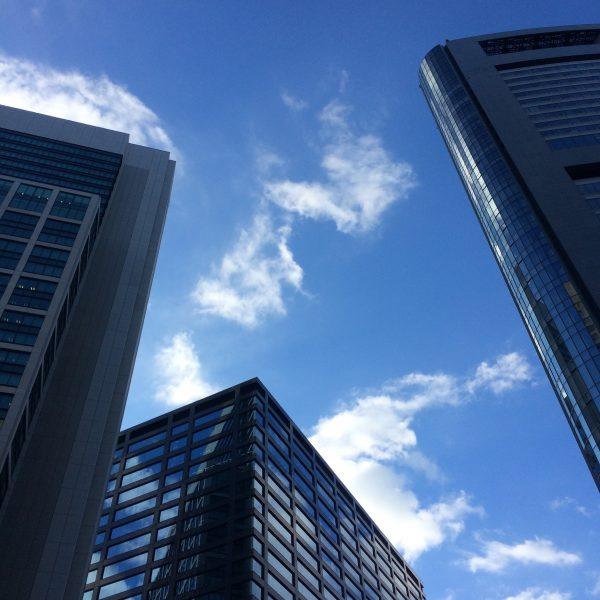 汐留の高層ビル街3の写真
