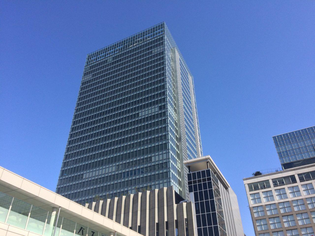 新宿ミライナタワーの写真