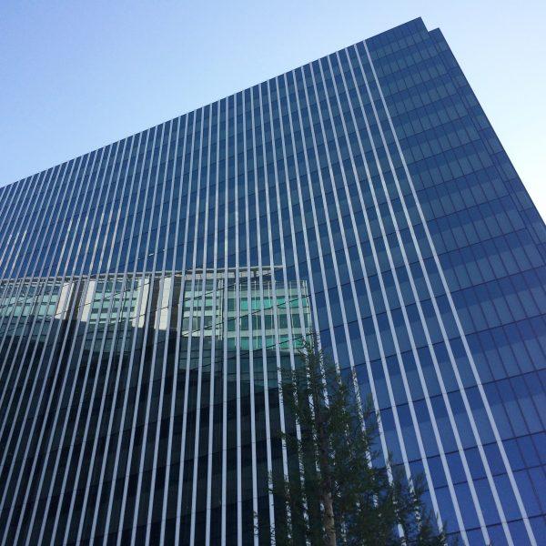 みなとみらいの高層オフィスビル街11の写真