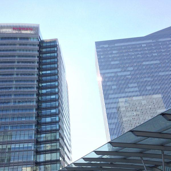 みなとみらいの高層オフィスビル街7の写真