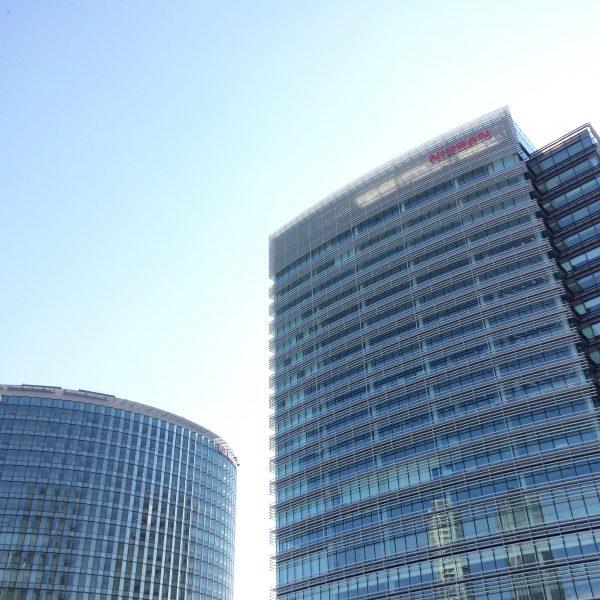 みなとみらいの高層オフィスビル街2の写真