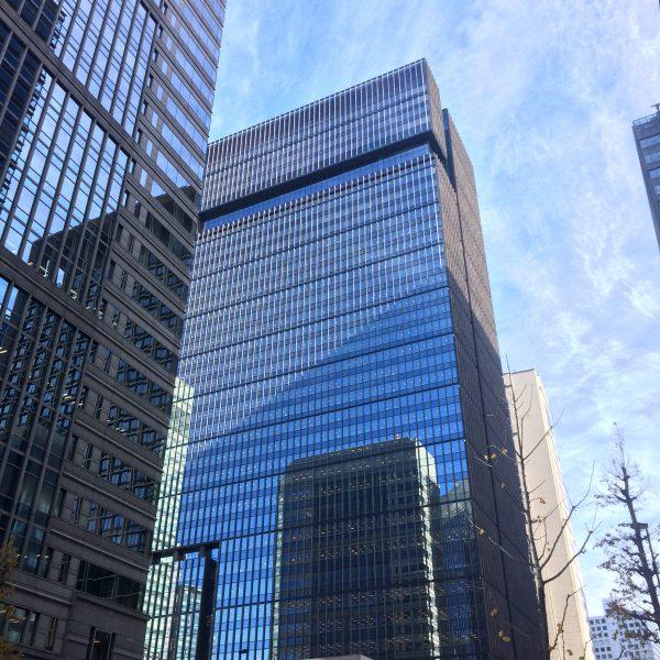 大手町の高層ビル街3の写真