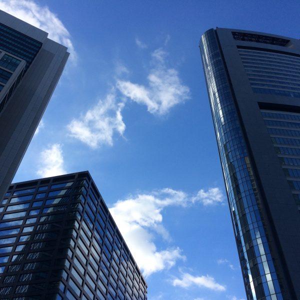 汐留の高層ビル街4の写真