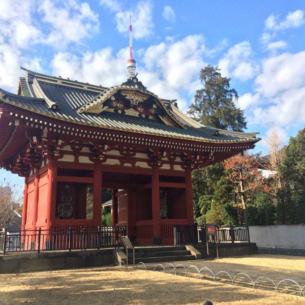 旧台徳院霊廟惣門の写真