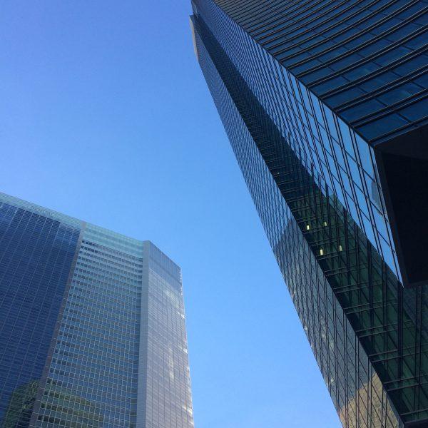 汐留の高層ビル街8の写真