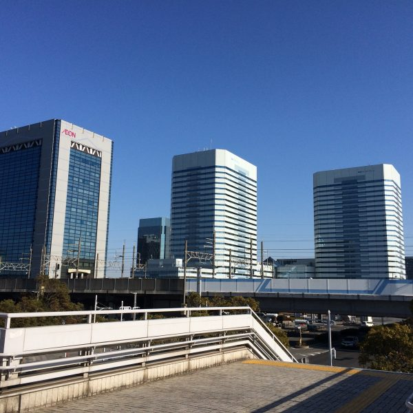 幕張新都心の高層ビル街19の写真
