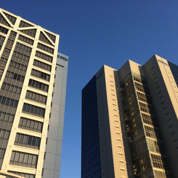 幕張新都心・海浜幕張の高層ビル街6の写真