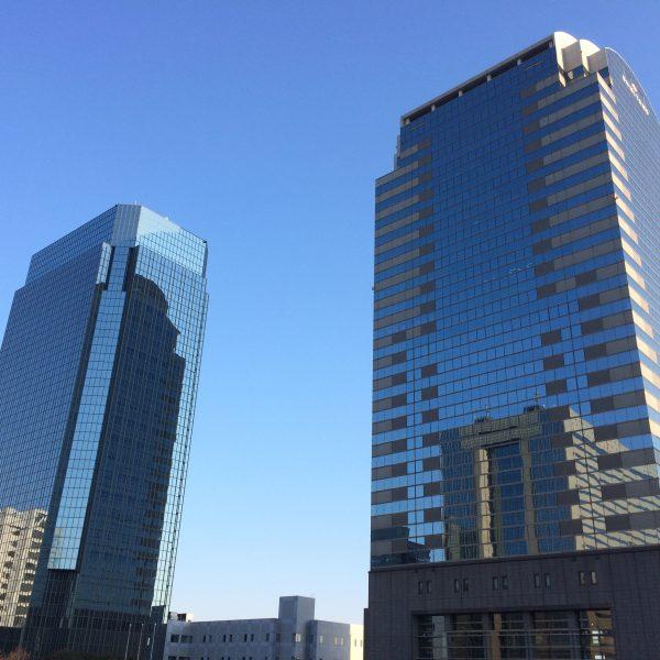 幕張新都心・海浜幕張の高層ビル街12の写真