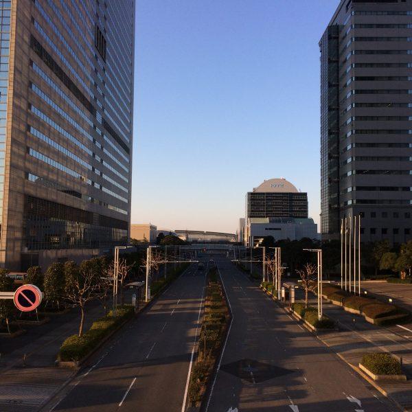 幕張新都心・海浜幕張の高層ビル街の写真