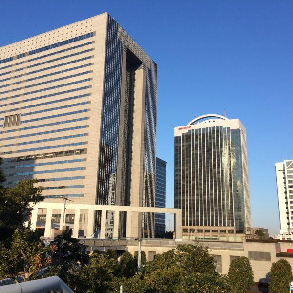 幕張新都心・海浜幕張の高層ビル街13の写真