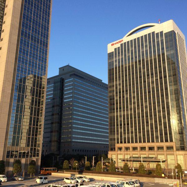 幕張新都心・海浜幕張の高層ビル街9の写真