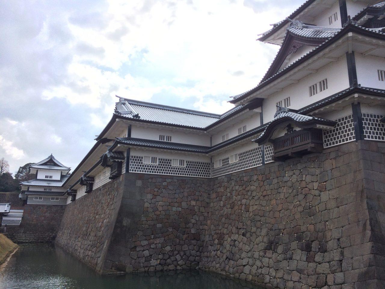金沢城とお堀4の写真