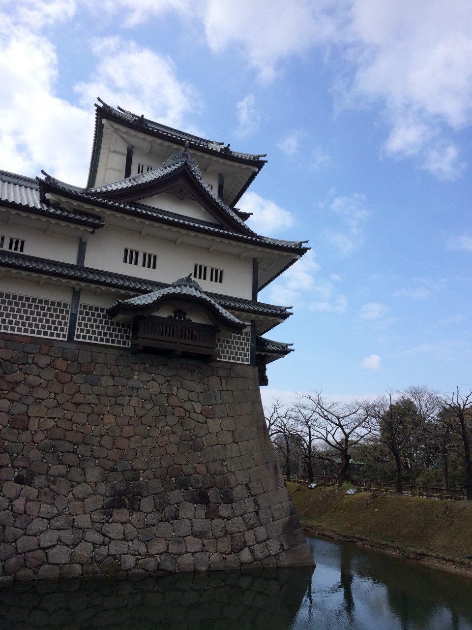 金沢城とお堀5の写真