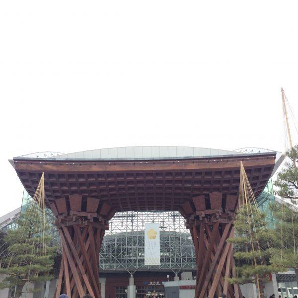 金沢駅の鼓門6の写真