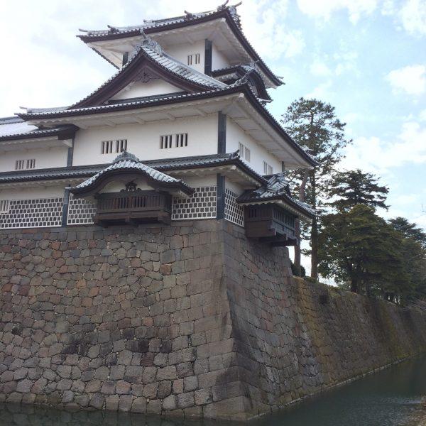 金沢城とお堀3の写真