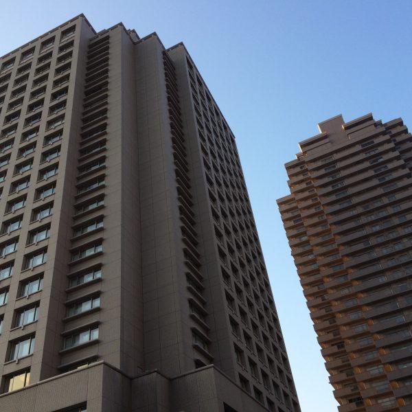 ウェスティンホテル東京とタワーマンションの写真