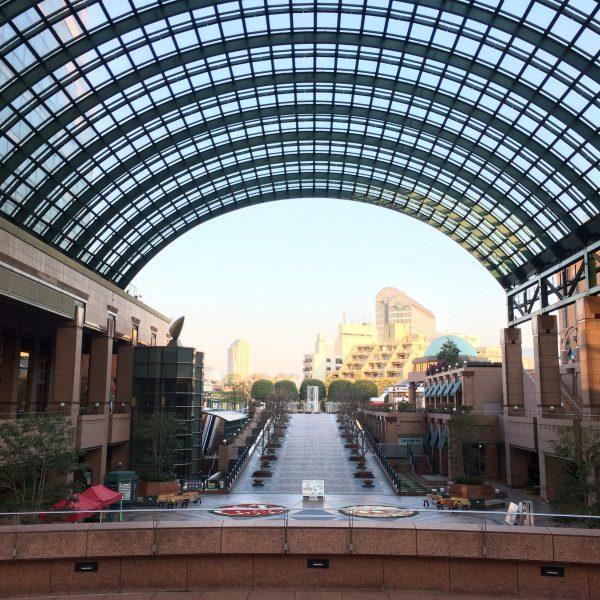 恵比寿ガーデンプレイスのアトリウムの写真
