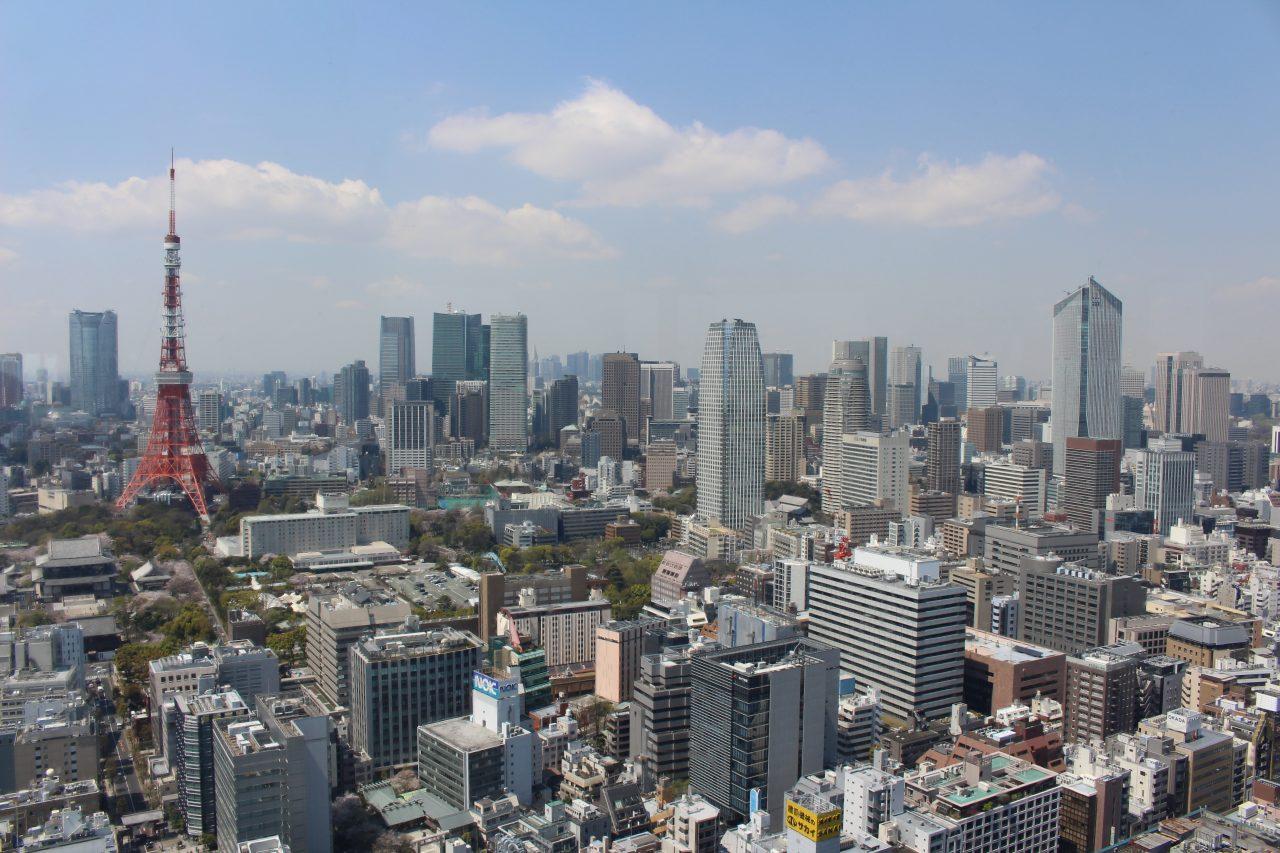 展望台から見た港区の街並み2の写真