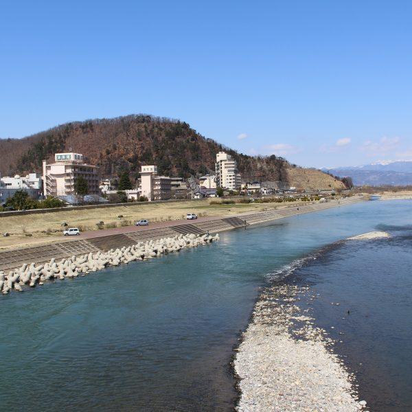 上山田温泉と千曲川4の写真