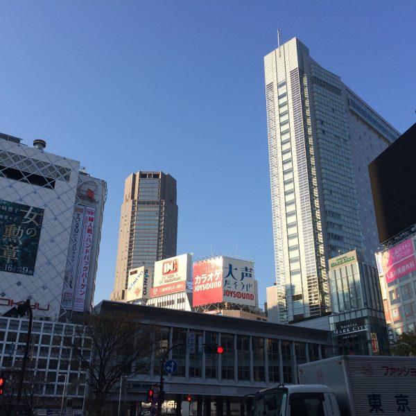渋谷マークシティとセルリアンタワーの写真