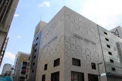 銀座のLOUIS VUITTON(ルイ・ヴィトン)の路面店2の写真