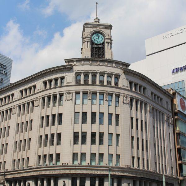 銀座・和光の時計台2の写真