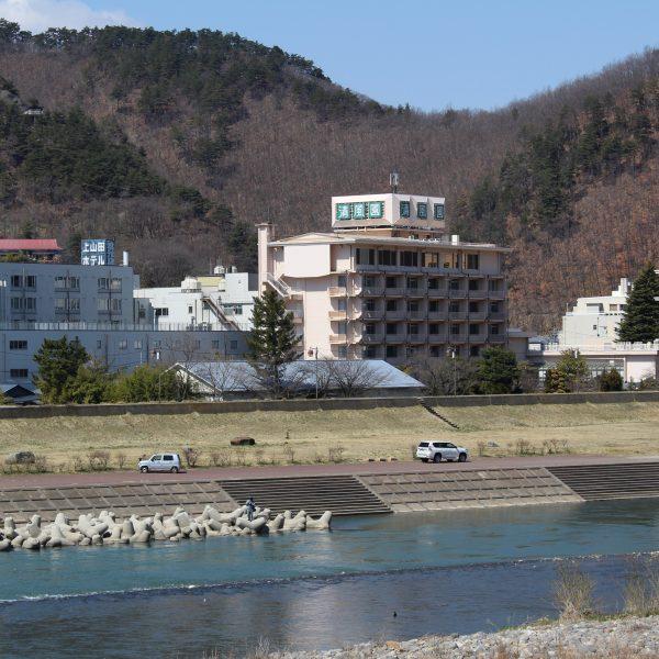 上山田温泉と千曲川3の写真