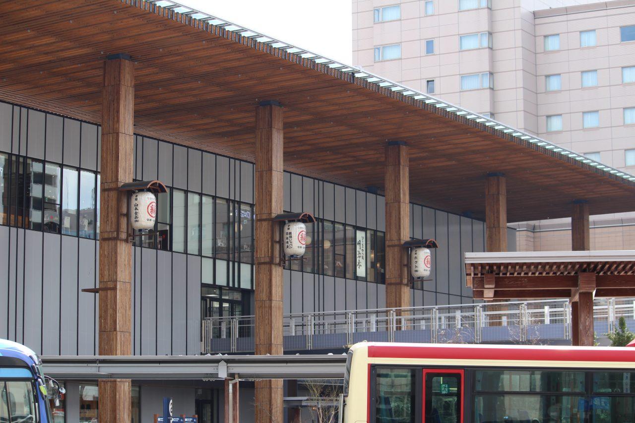 長野駅善光寺口の外観2の写真