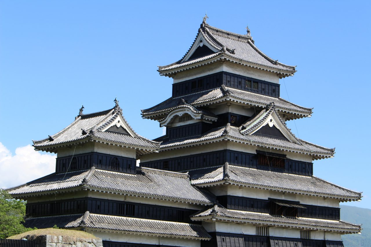 松本城天守閣4の写真
