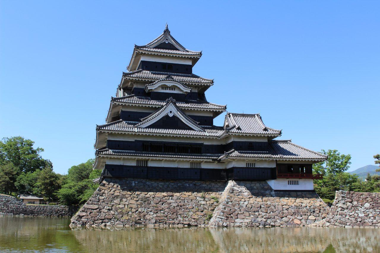 松本城天守閣3の写真