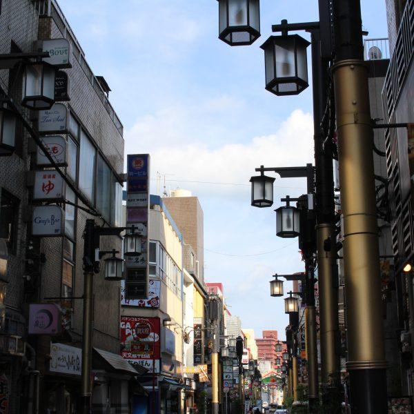 天文館文化通りの街並み2の写真